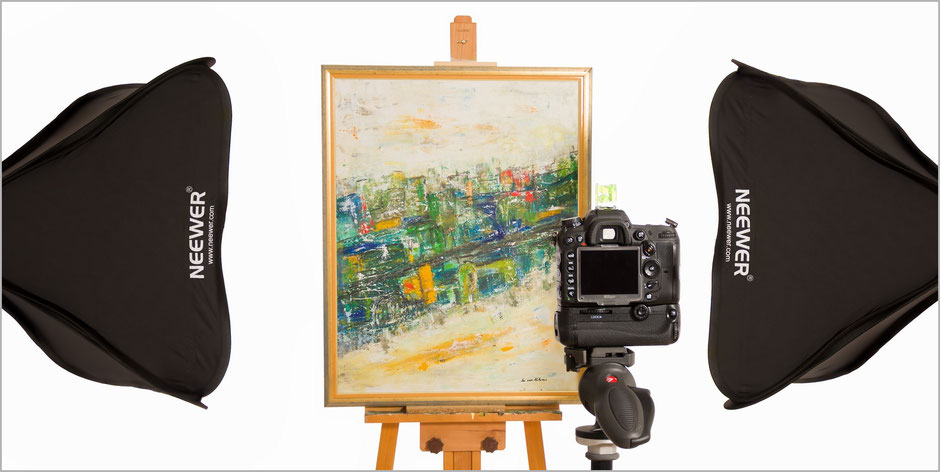Banner, Kunst-Fotografie, Art-Photography, Kunst, Art, Gemälde, Reproduktion, Blitzanlage, Oehlmann-Photography