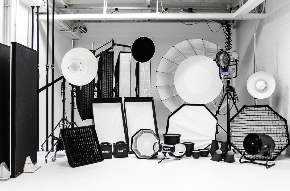 Studioequipment, Lichtschmiede München e.V., Oehlmann-Photography