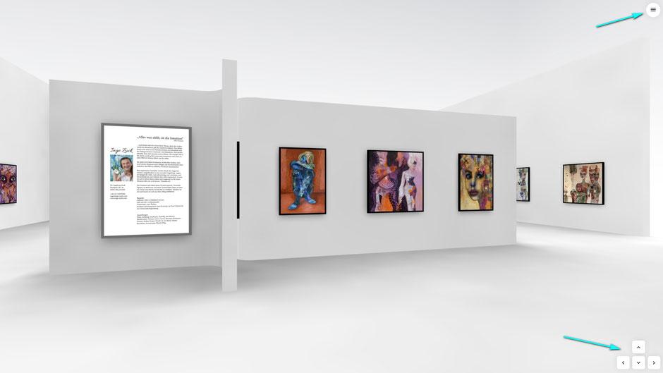 Banner, Navigation, Online-Ausstellung, Inge Zuck, Dr. Ralph Oehlmann, Oehlmann-Photography