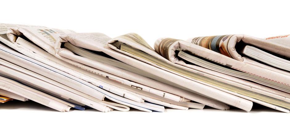 Banner, News, Zeitschriften, Oehlmann-Photography