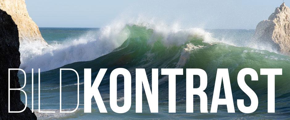 Banner, Blog-Artikel Bildkontrast, Rolling Waves, Dr. Ralph Oehlmann, Oehlmann-Photography