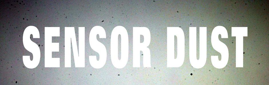 Banner Sensor Dust, Bild eines verdreckten DSLR-Sensors, oehlmann-photography.de, Dr. Ralph Oehlmann