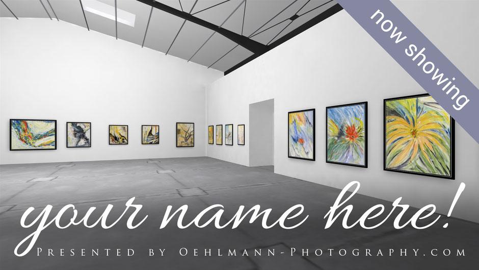 Mockup-Banner, Virtuelle 3D Online Ausstellungen, Online Exhibitions, Dr. Ralph Oehlmann, Oehlmann-Photography
