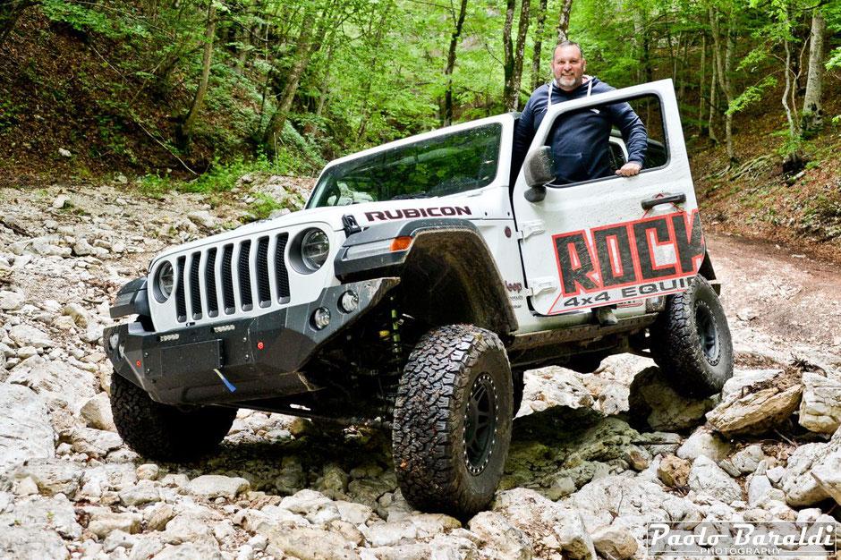 Fabrizio Venturini, titolare di Rock's 4x4