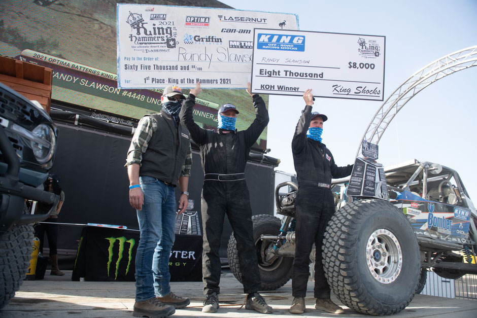 king of the hammers 2021 ultra4 racing