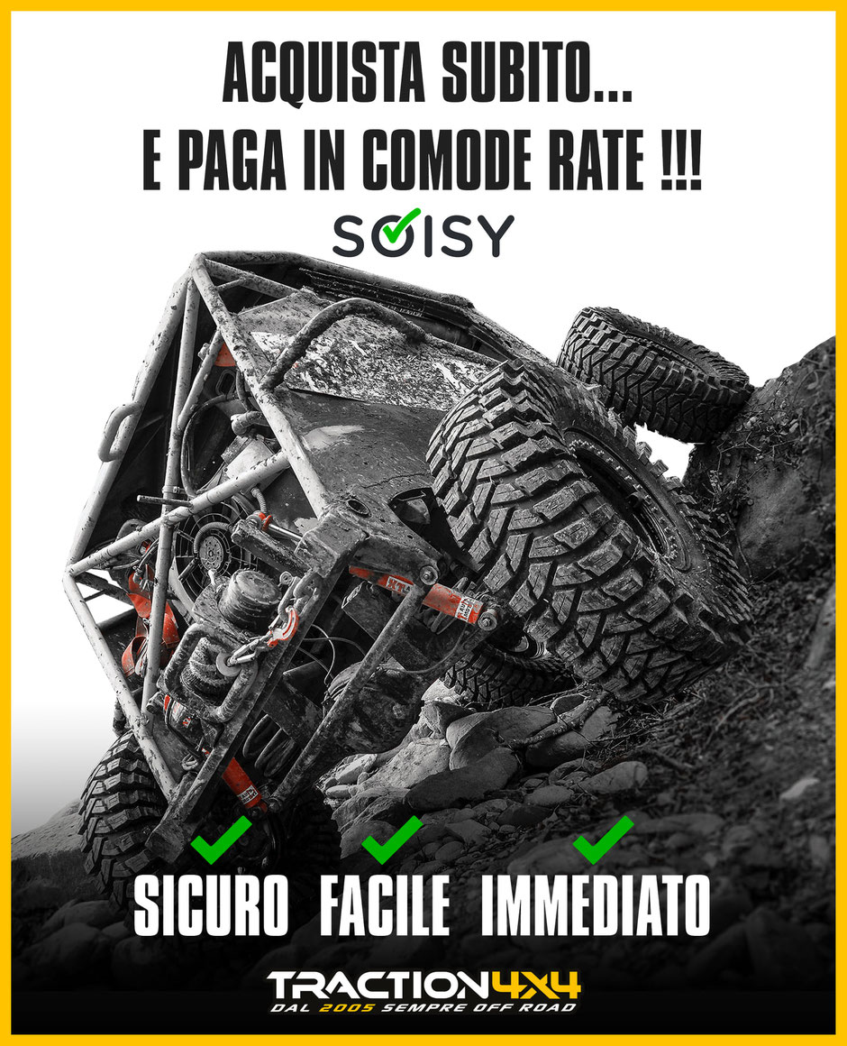 traction 4x4 pagamento a rate