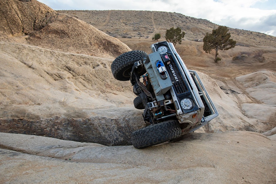 amber turner king of the hammers every man challenge suzuki samurai