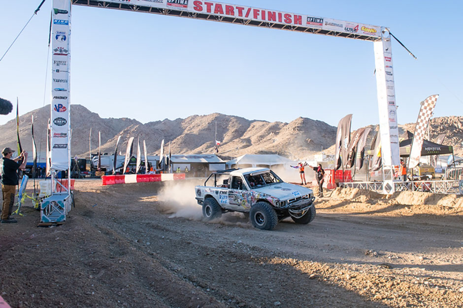EV Toyota 4Runner to finish the King of the Hammers