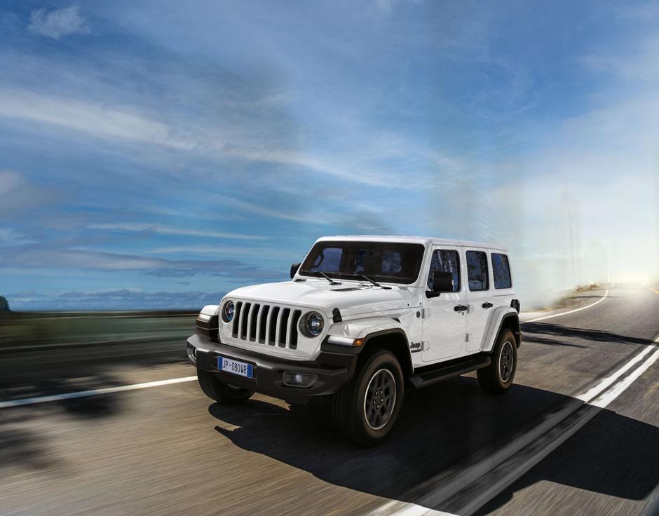 jeep wrangler 80 anniversario