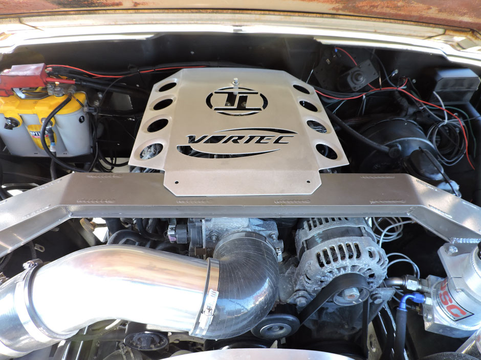 6.0 litri V8 Vortec L96 Small Block with 352Hp and 518 Nm