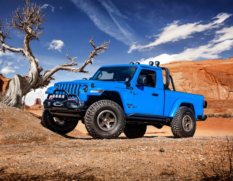 Jeep Gladiator concept J6