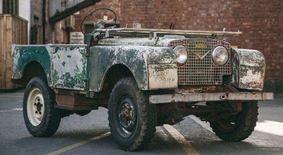 La prima Land Rover