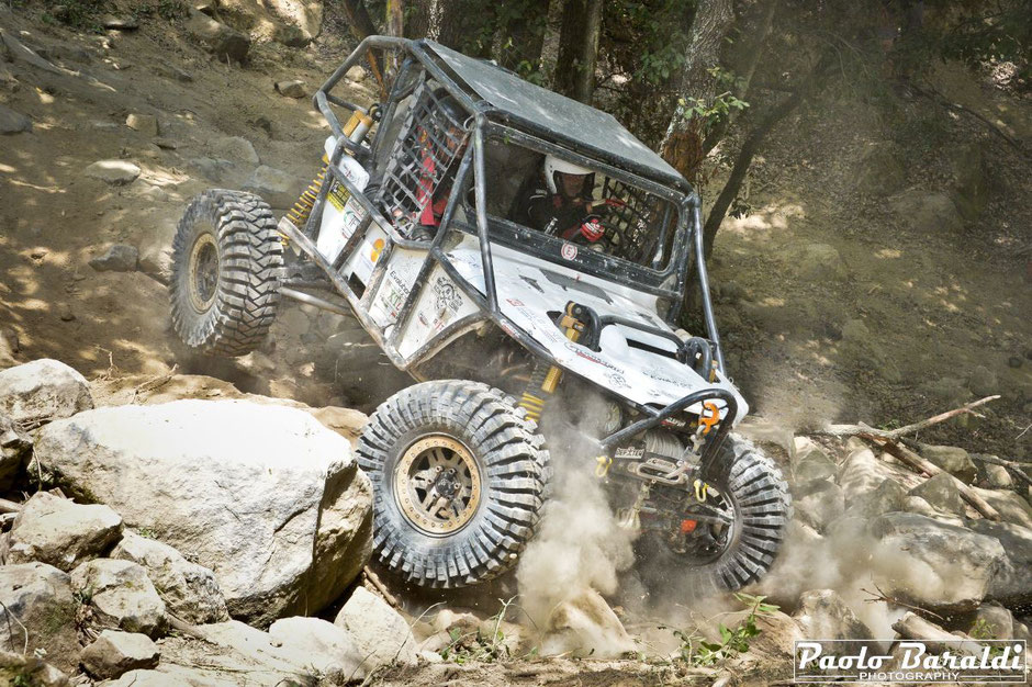 Rubechini-Franceschini team Evolution 4x4