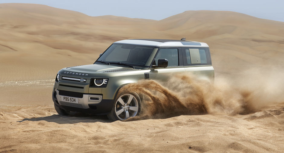 land rover new nuova defender