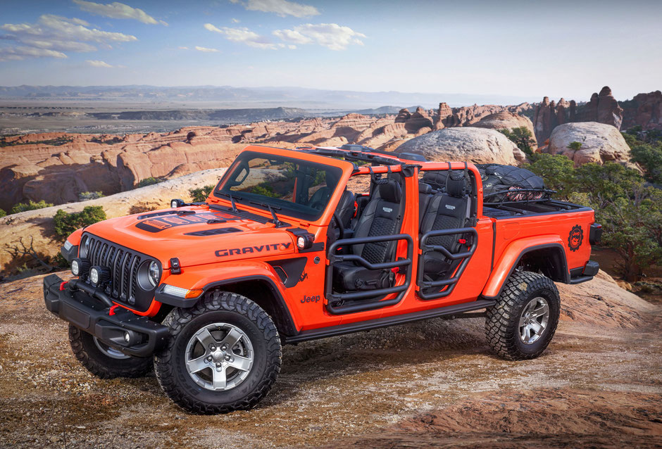 Jeep Gladiator concept Gravity