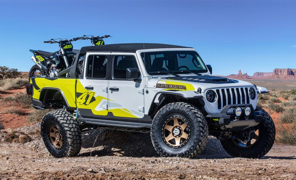 Jeep Gladiator concept flatbill