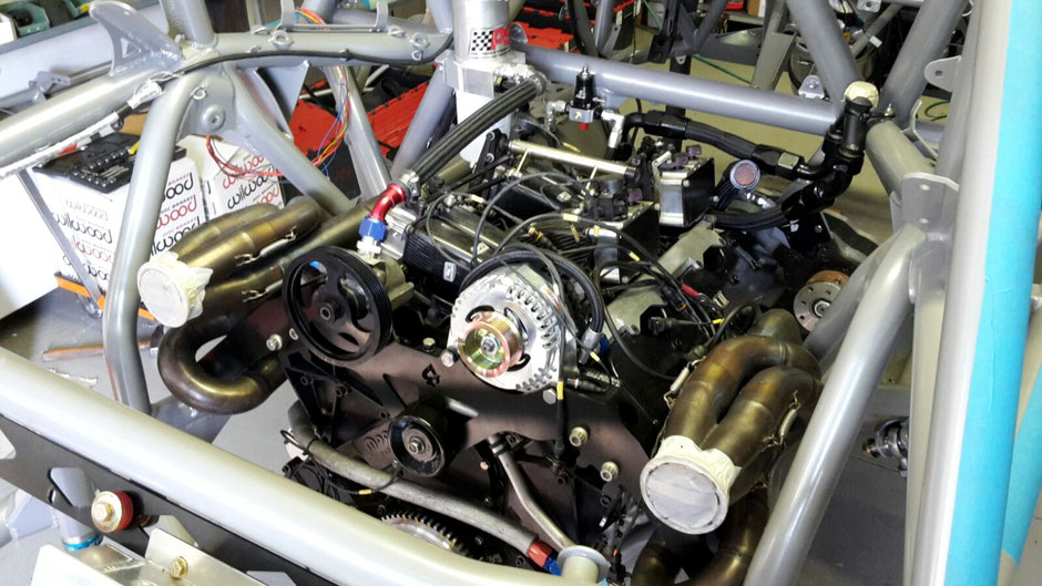 The 6.0-liter Mopar LMP V8 engine