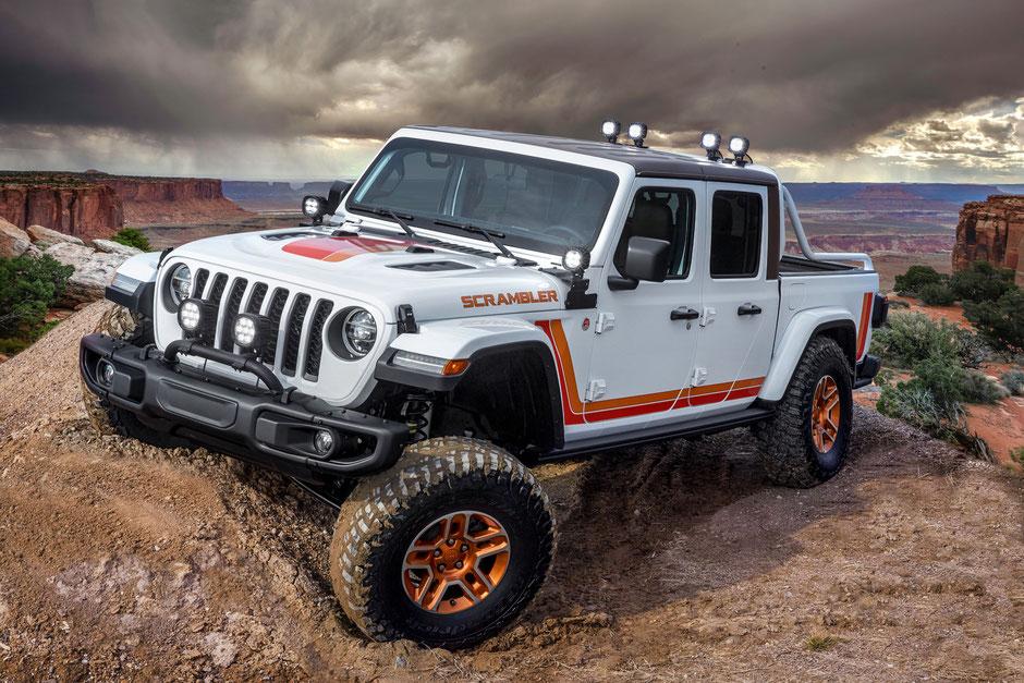 Jeep Gladiator concept JT Scrambler