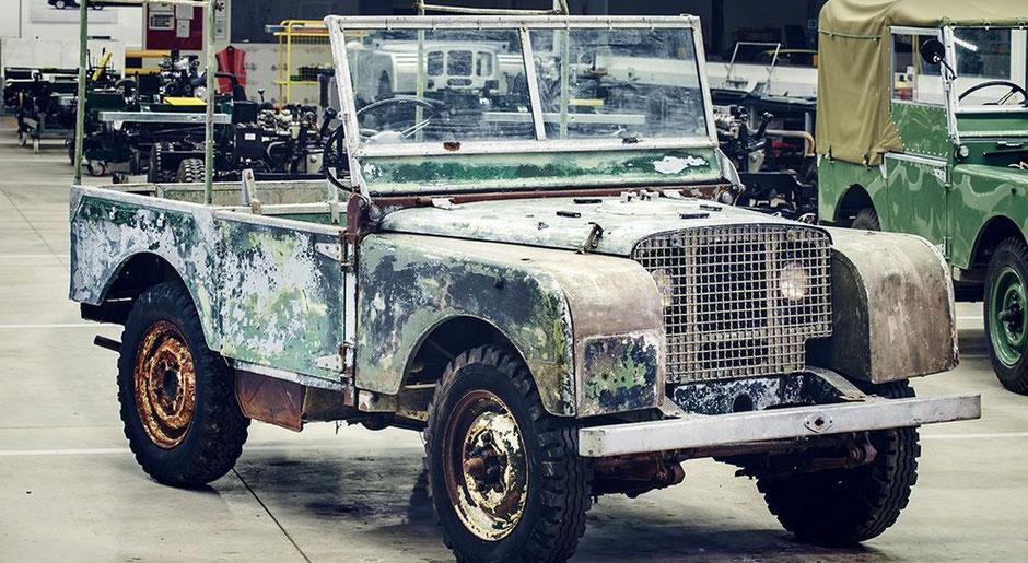 1948 lando rover maurice wilks new nuovo defender