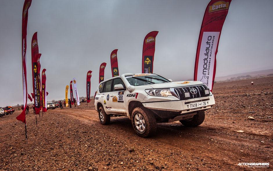 Emily Miller Carta Rallye Morocco
