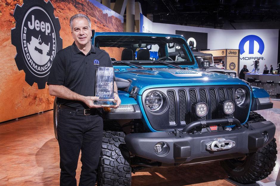 jeep wrangler sema show