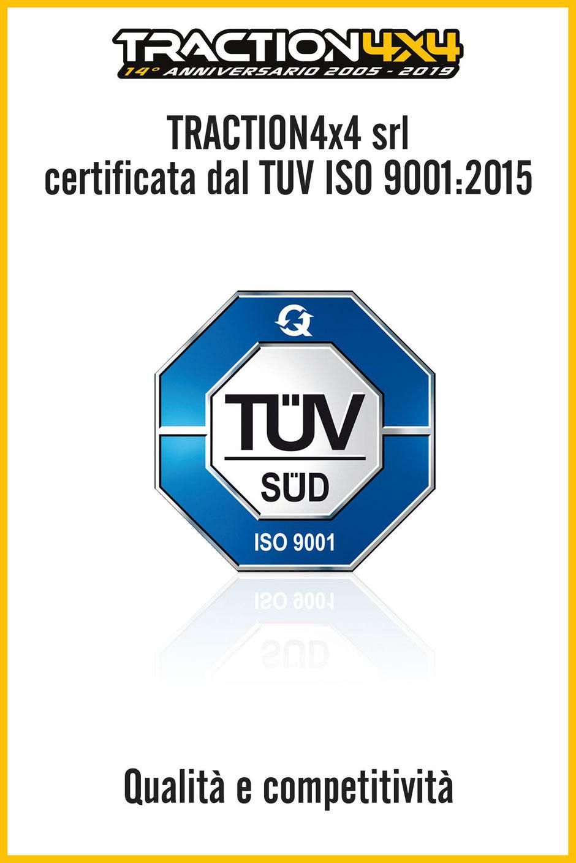 traction 4x4 certificata tuv