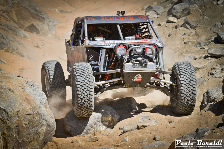 Jason Scherer, vincitore della King of the Hammers 2019