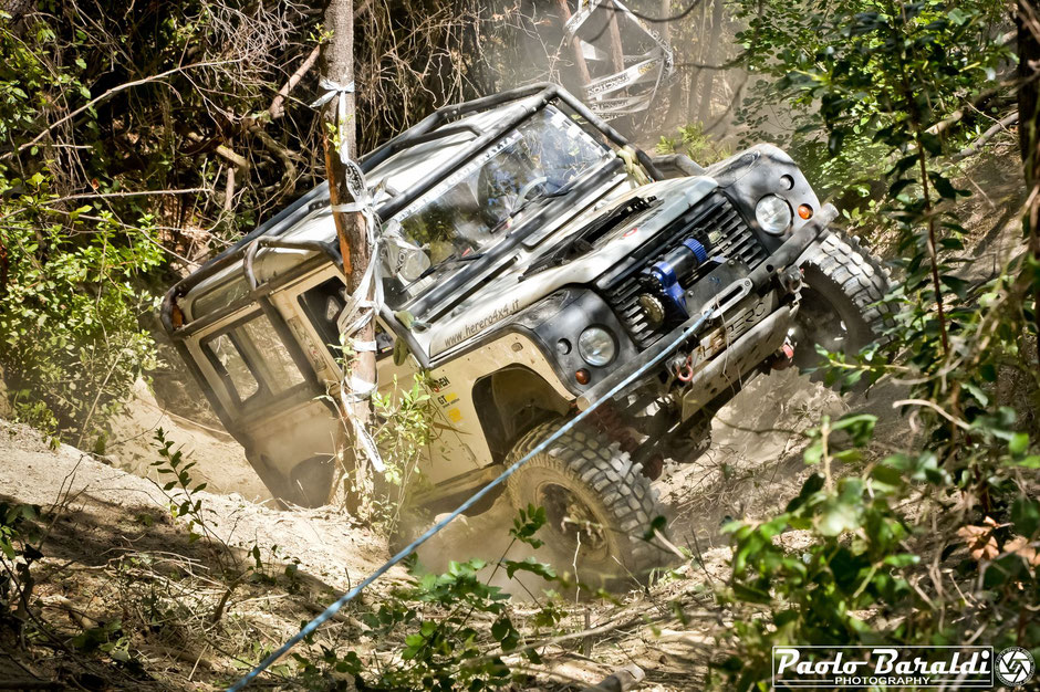 roll cage herero 4x4