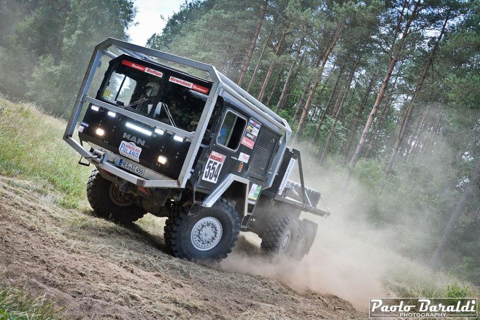 Matthias Koerber vincitore Breslau Poland Big Truck CC