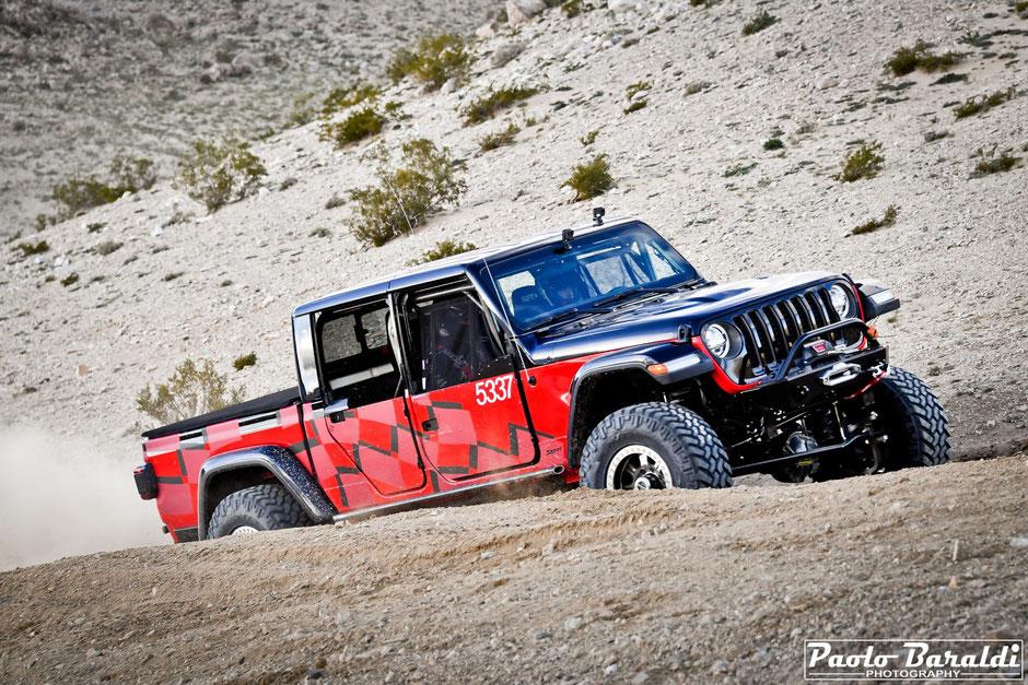 Erik Miller con la nuova Jeep Gladiator