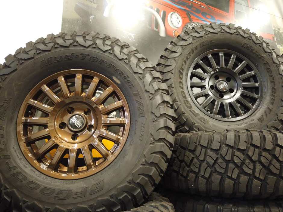 larossa 4x4 oz racing sparco wheels