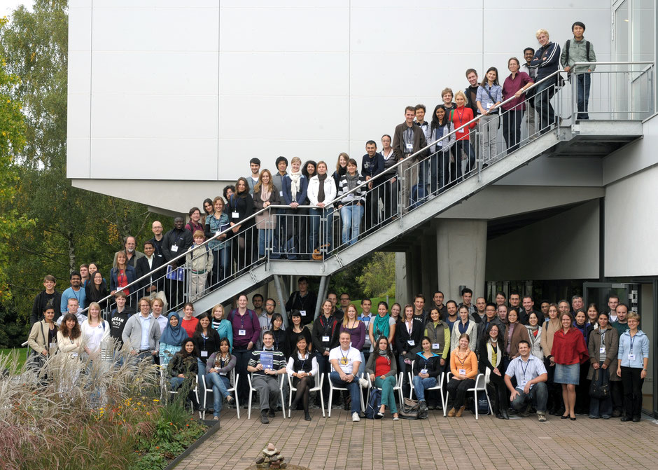 Organizers and participants of Horizons in Molecular Biology 2010