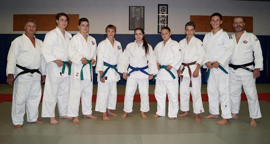 Groupe sport-études judo 2016-2017