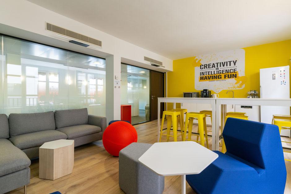 Paris Madeleine - Mission: Conseil en décoration pour 5 espaces collectifs, 114m²
