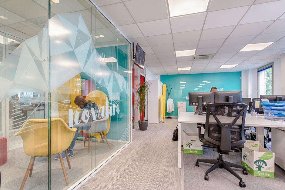 Paris XII- Mission: Rénovation et aménagement des bureaux adaptés aux utilisateurs, 560m²
