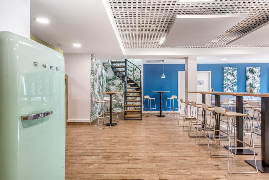 La Boissière l'école- Mission: Rénovation et aménagement du restaurant d'entreprise 150m²
