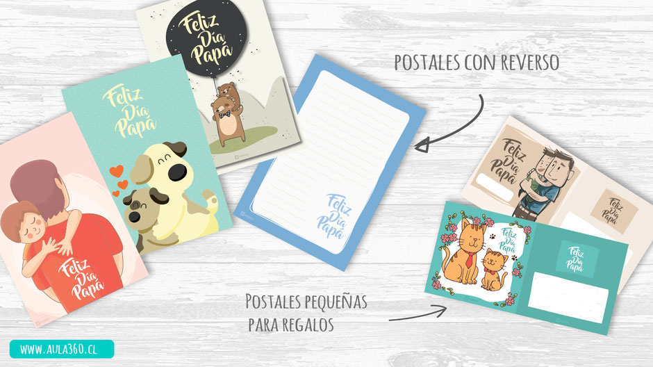 postales con bellos diseños para profesores gratis aula360