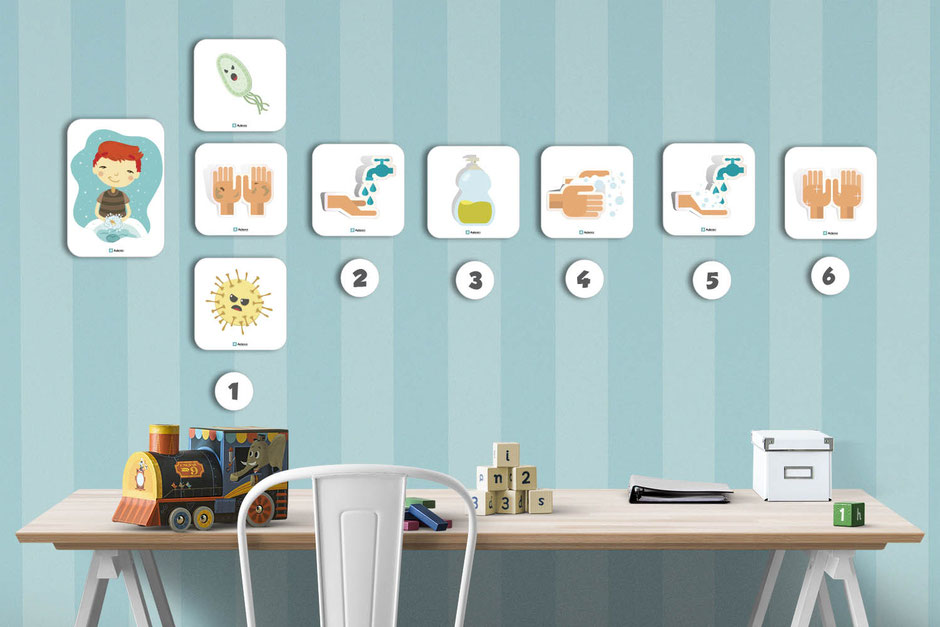 descarga gratis para imprimir tarjetas higiene hábitos aula360 profesores