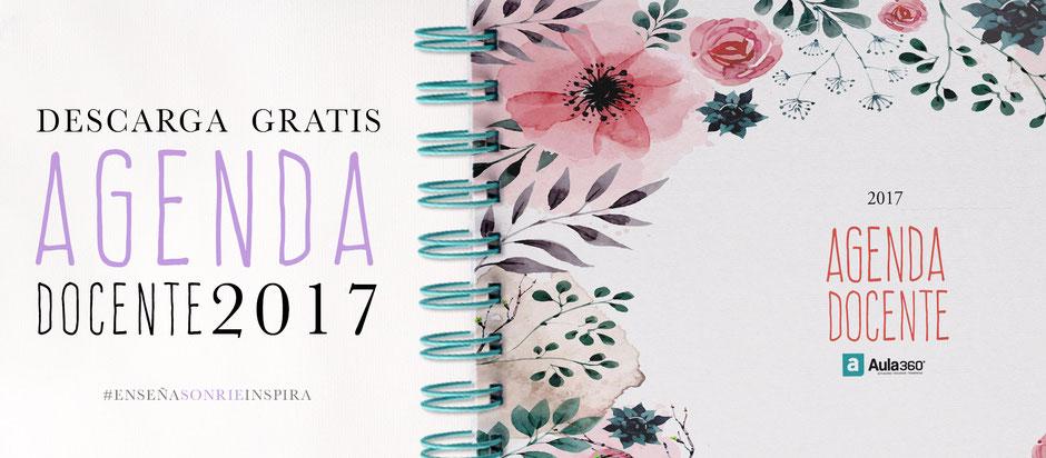 Descarga gratis la agenda docente 2017 de Revista Aula360