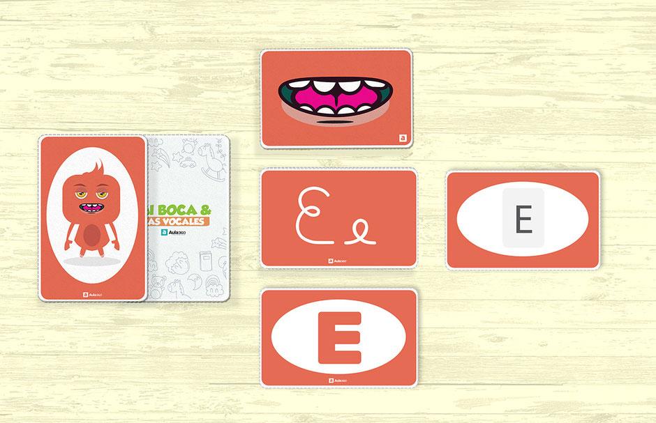 descargar plantillas para enseñar pronunciación de vocales para maestros profesores aula360