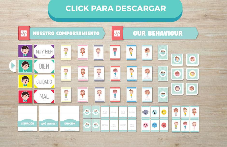 Descarga gratis megapack emociones para profesores aula360