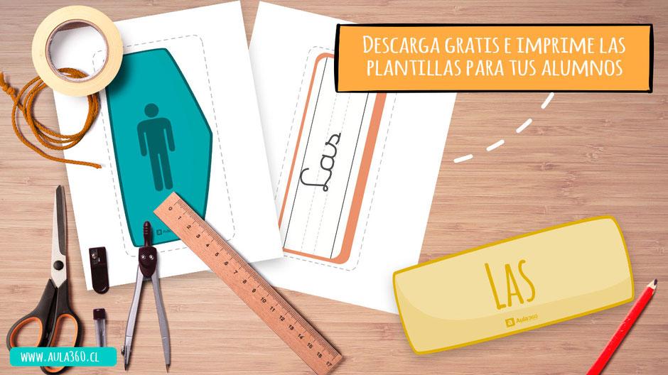 El pack para enseñar los artículos esta en formato pdf y se adapta a tus necesidades especiales como profesor