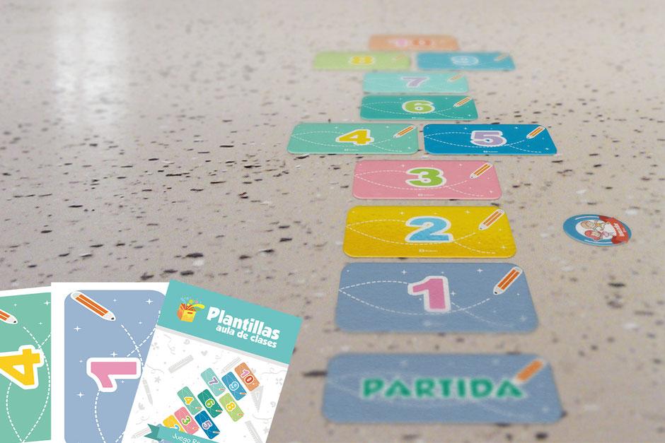 Descarga gratis material didáctico para imprimir Aula360 para profesores números recreo