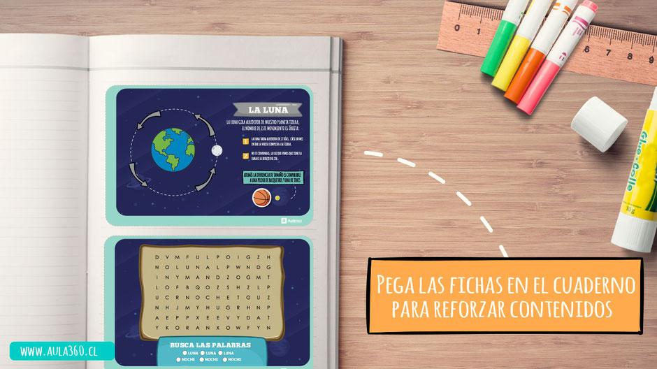 plantillas para imprimir gratis fases de la luna aula360