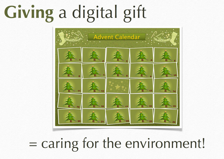 Screenshot - Green Christmas Book - Online Incentive by andante media - all rights reserved 2016!