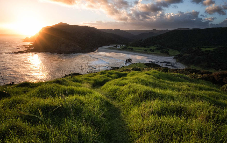 Tapotupotu Bay. North Island. New Zealand