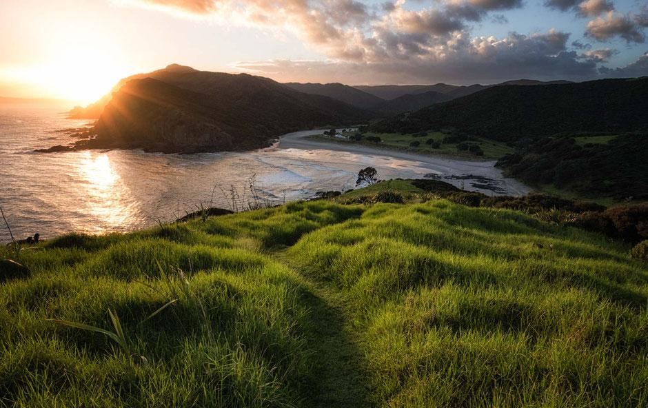 Tapotupotu Bay. North Island. New Zealand