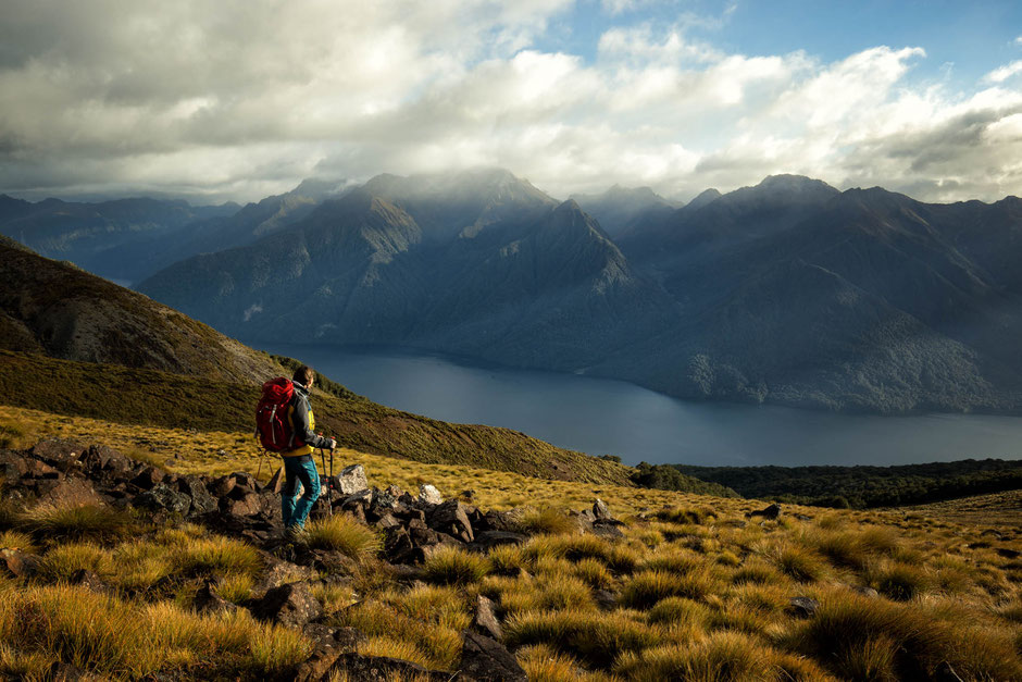 One of the best parts of the Kepler Track in New Zealand - In A Faraway Land