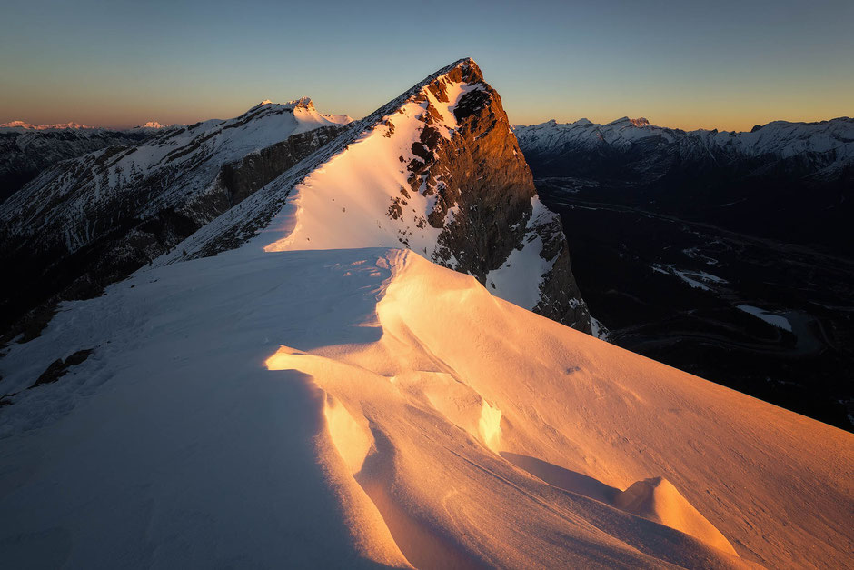 Ha Ling Peak at Sunrise - top photography spots in Canmore and Kananaskis Country