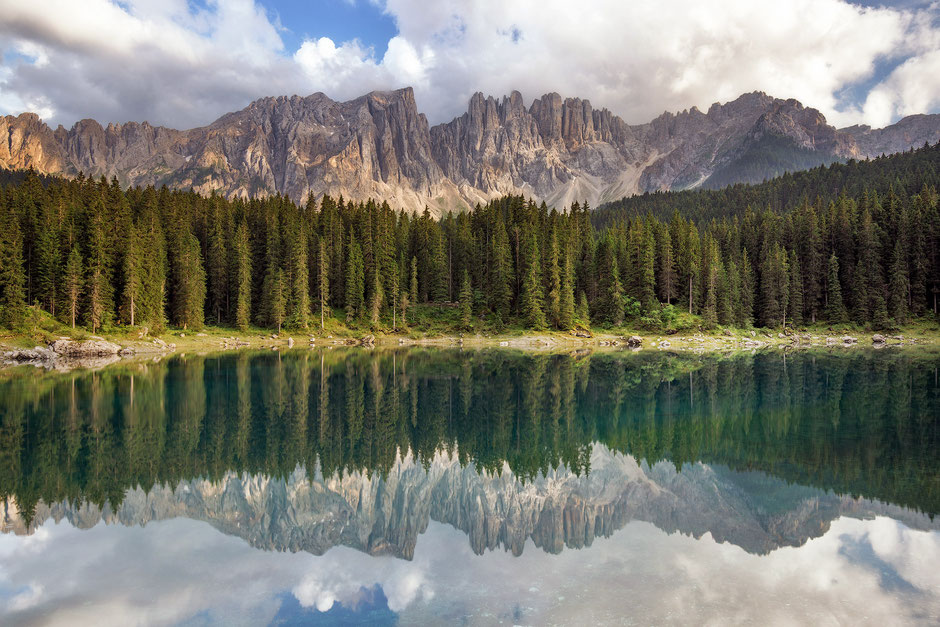 Best Photography Spots in the Italian Dolomites - Lago di Carezza / Karersee